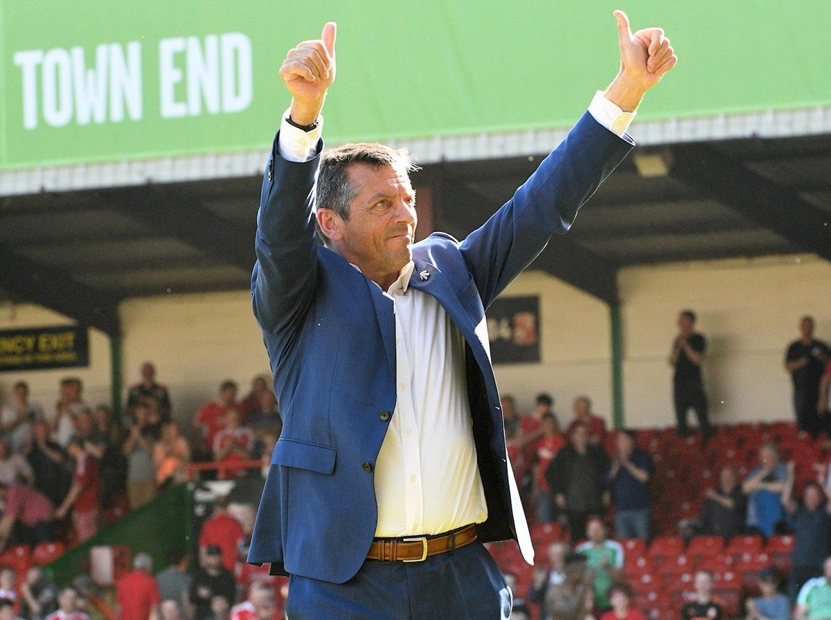 INTERVIEW 💬 | Town Boss Phil Brown says that he is way down the line on three or four new players. ⤵️ 👉 bit.ly/2JTk1Ic #STFC