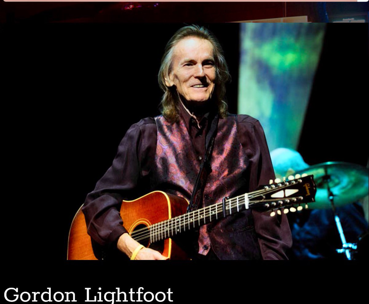 Gordon Lightfoot on June 20! Thank you @Artsquest for making dreams come true!
