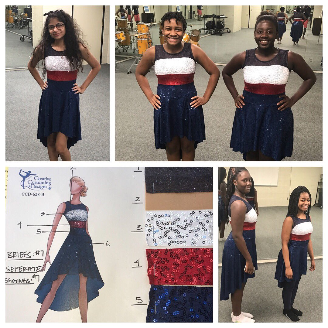 Homewood High Band On Twitter The New Patriot Color Guard Uniforms Arrived Today And They Look Great Thanks Creative Costume Designs
