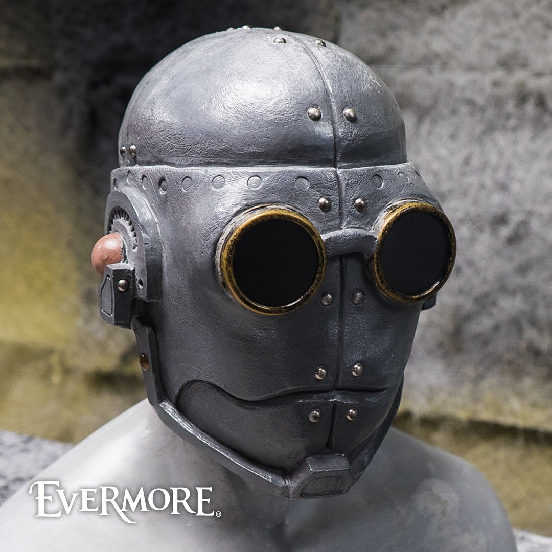 A solid #wip on our updated Steam Man from the amazing team at the Evermore Creative Studio. #evermore #evermorepark #steampunk