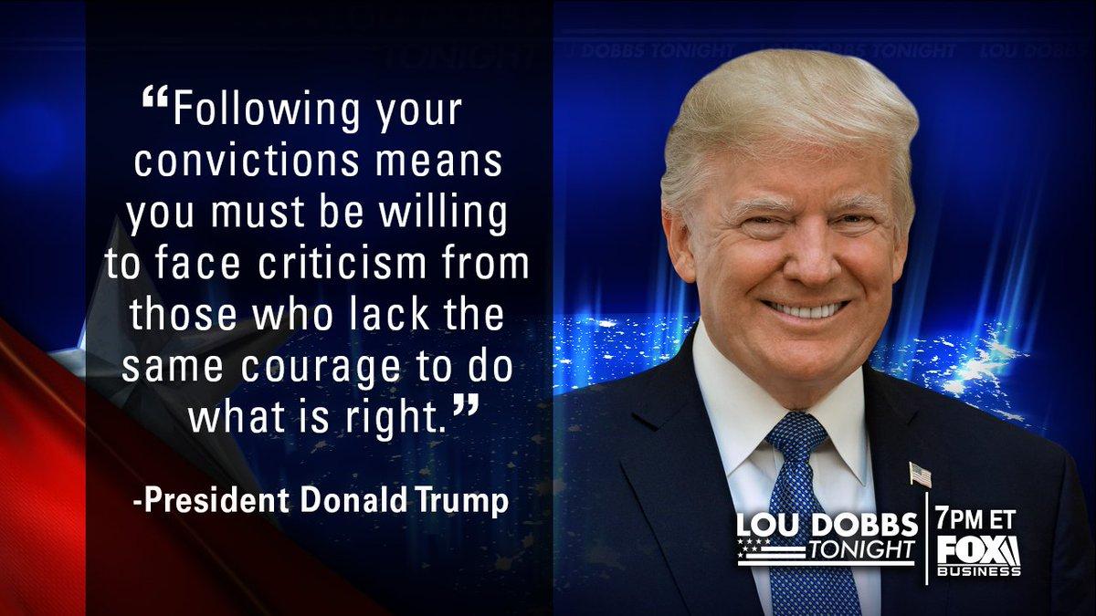 Tonight's #QuoteOfTheDay is from our President @realDonaldTrump! #MAGA #TrumpTrain #Dobbs