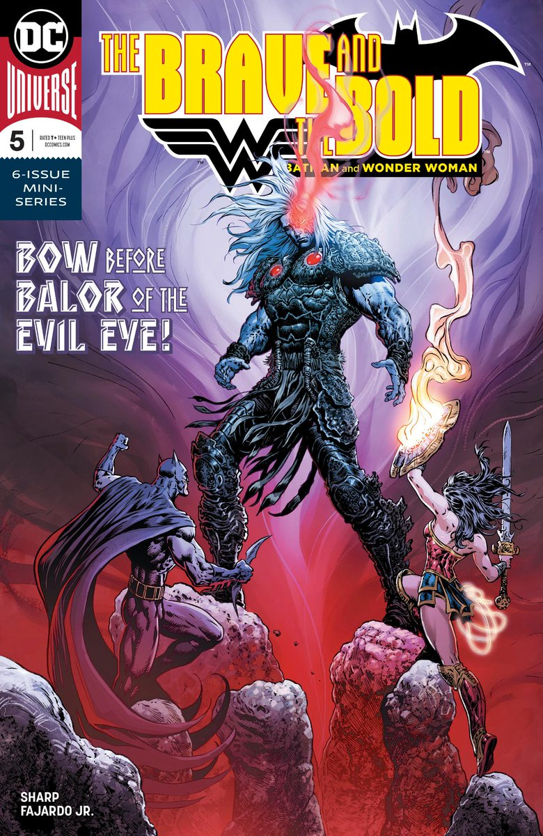 Creator @LiamRSharp chats with @Newsarama about his passion for Celtic mythology and building a fresh world for Wonder Woman and Batman in THE BRAVE AND THE BOLD: BATMAN AND WONDER WOMAN. Issue #5 out 6/20: bit.ly/2t5gRHg