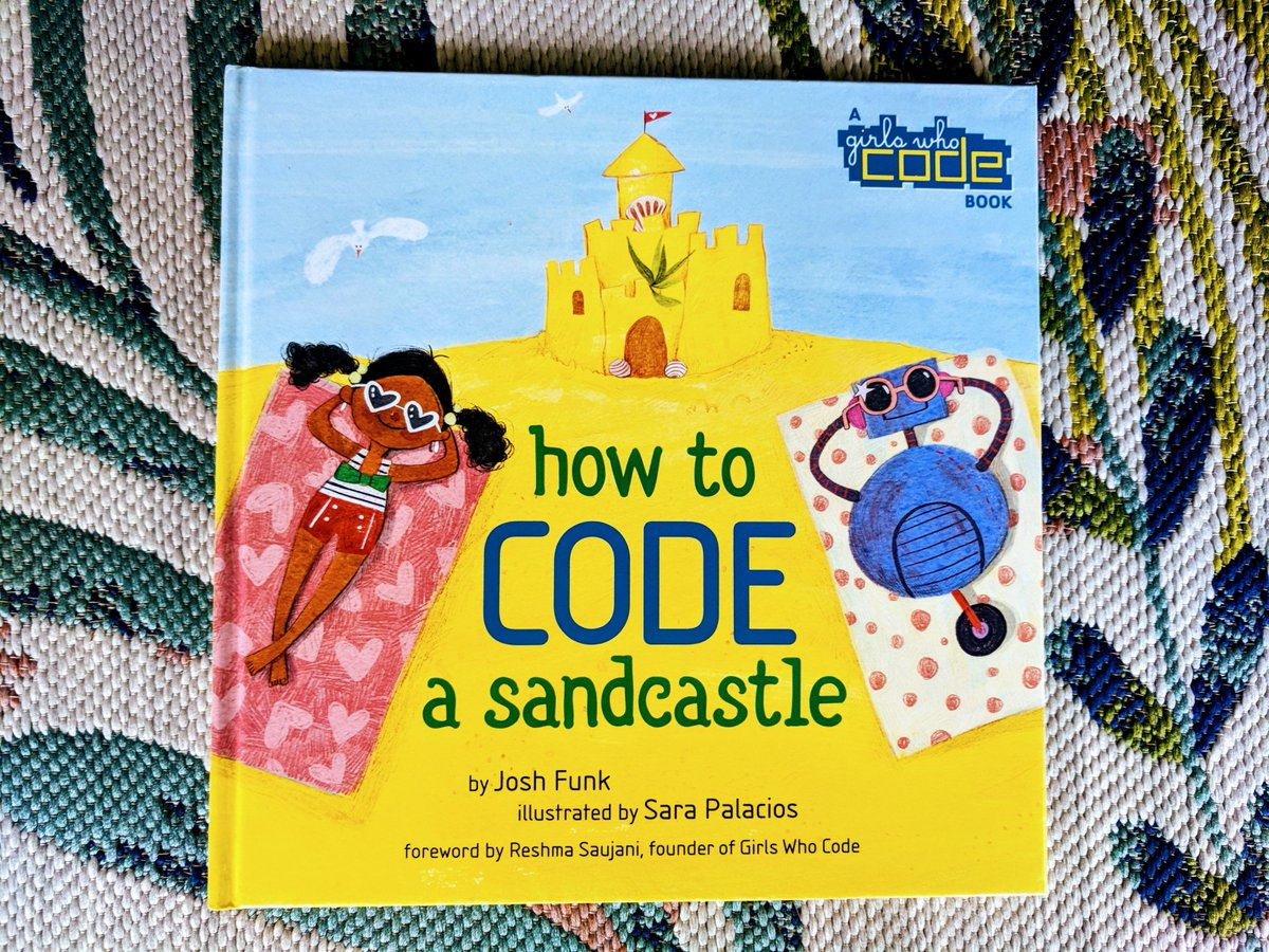 New Blog Post today about How to Code a Sandcastle by @joshfunkbooks  and @GirlsWhoCode - It is a post that discusses a lot of things, but perhaps most importantly, some thoughts about why BOYS need to read diverse books. #kidsbooks #weneeddiversebooks  https:// bit.ly/2I27f4E  &nbsp;  <br>http://pic.twitter.com/0NVeNKmdue