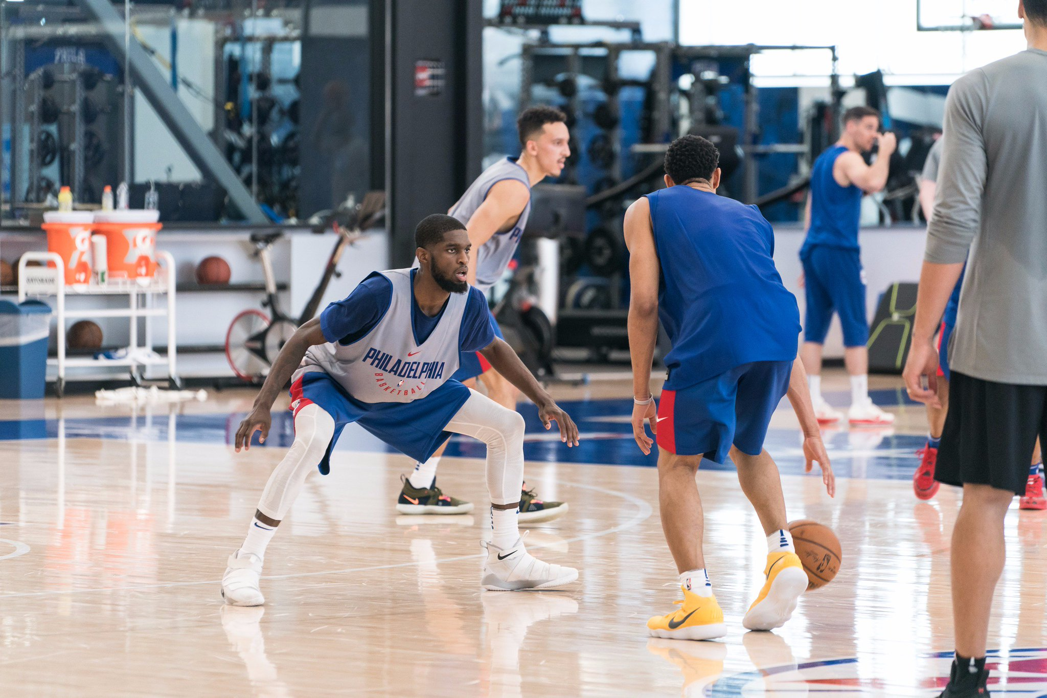 .@LaSalleMBB's @Bean_J20's hometown workout among pre-draft storylines.   �� » https://t.co/l2HTZi4W8i | #Summer76 https://t.co/doSnGsuWYS