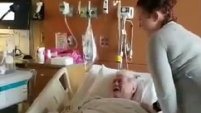 Terminally ill NJ man wells up as he meets newborn great-granddaughter https://t.co/cjRejs2eEi