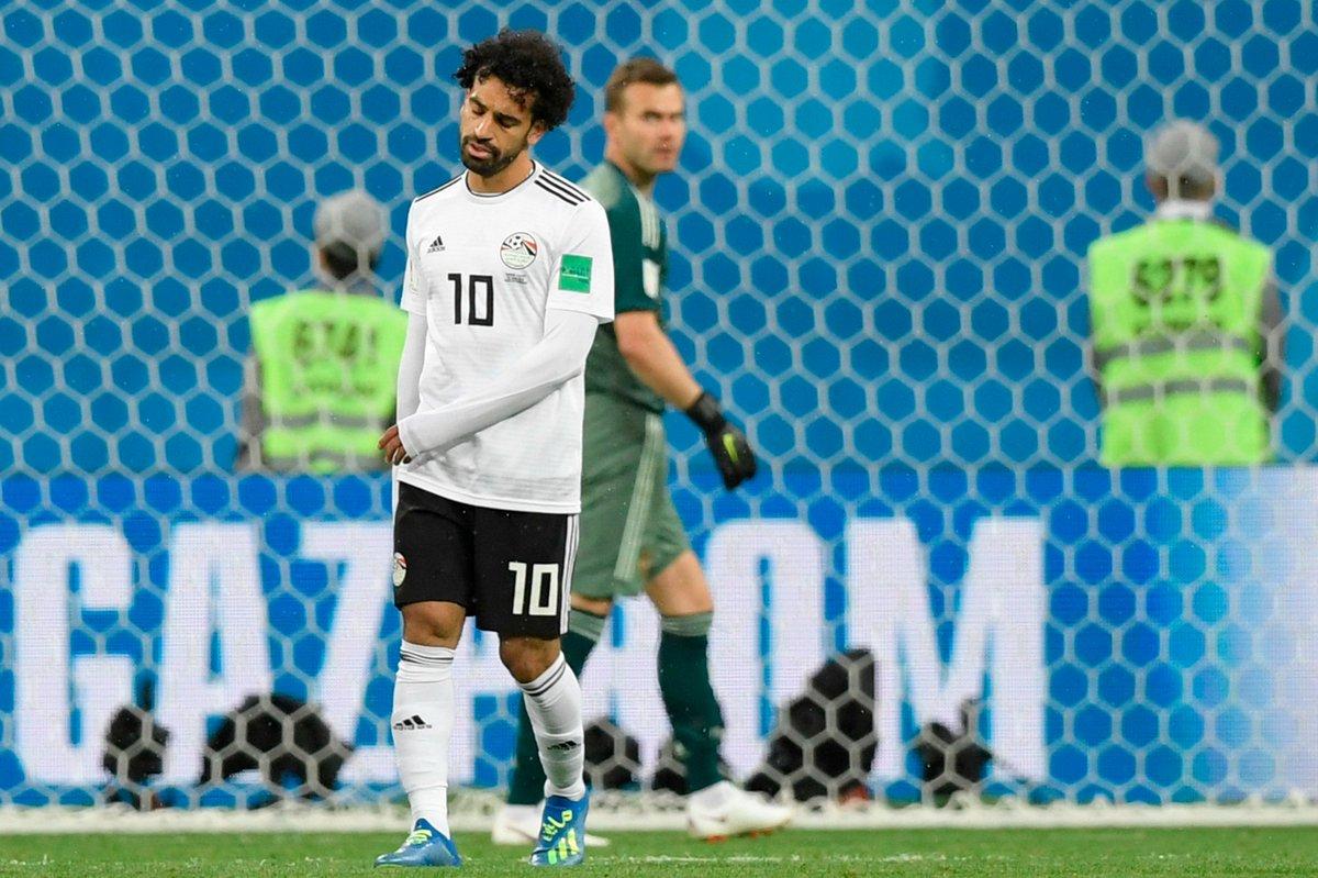 أهداف مباراة مصر وروسيا في المونديال