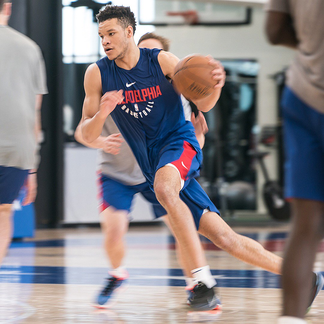 LOOK: Kevin Knox Completes 76ers' Workout