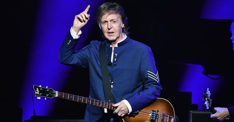 """Paul McCartney announces two new songs """"I Don't Know"""" and """"Come on to Me."""" https://t.co/7N1UH9b4aF https://t.co/z8dji8Hh9A"""