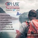 ¿Ya conoces Payroll Express de EPI- USE? Cuenta con integración de software financiero y contable, con autoservicios para los empleados y aprobaciones de gerente más rápidas y eficaces. Entra y conoce más https://t.co/Cx1TQtVk4H #EPIUSE #SAP #EPIUSEColombia #PayrollExpress