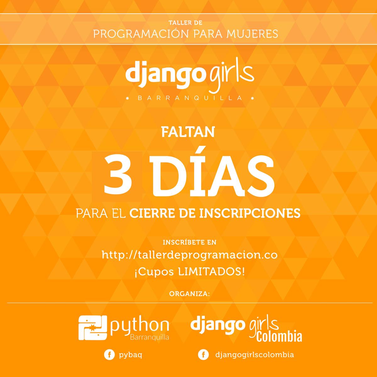 945058dd234f DjangoGirls Colombia on Twitter: