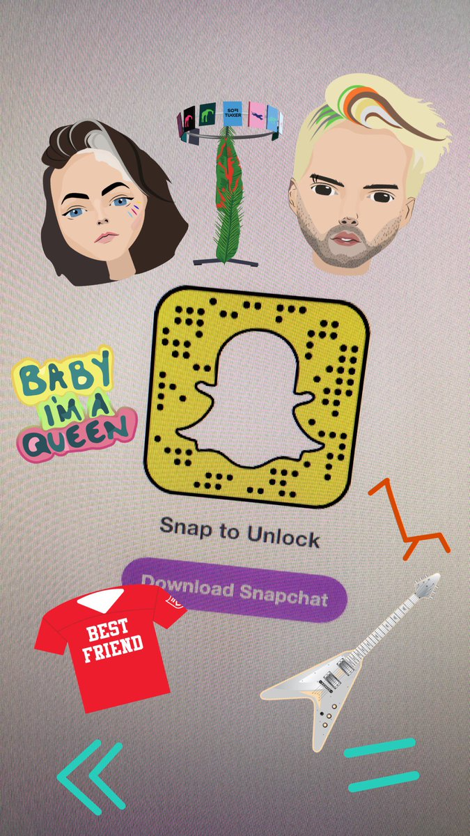 Sofi tukker on twitter check out our custom stickers now on snapchat 🌟🌟 https t co o2yp3w3lxl
