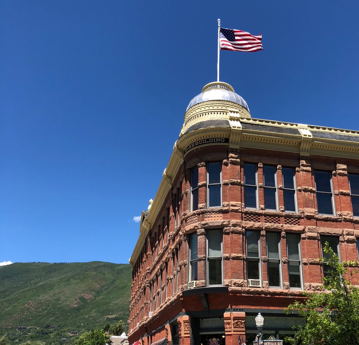 Beautiful afternoon...Aspen, CO #roadtrip