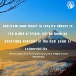 Image for the Tweet beginning: Cultivate your heart to forgive