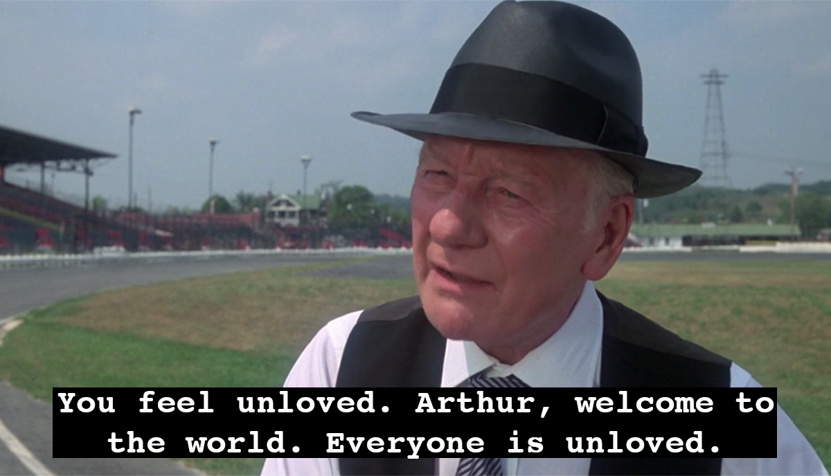 Today's #TuesdayThoughts from Sir John Gielgud in ARTHUR ('81)