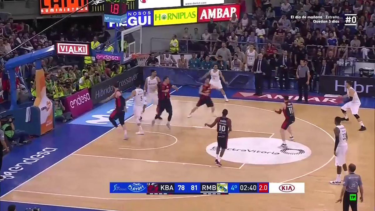 Luka Doncic is CLUTCH with an incredible three-pointer on one foot