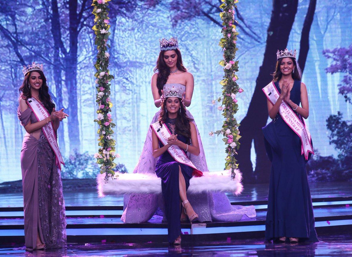 Tamil Nadus Anukreethy Vas has been crowned #MissIndia 2018. Haryanas Meenakshi Chaudhary and Andhra Pradeshs Shreya Rao Kamavarapu became the first and second runner-up respectively.