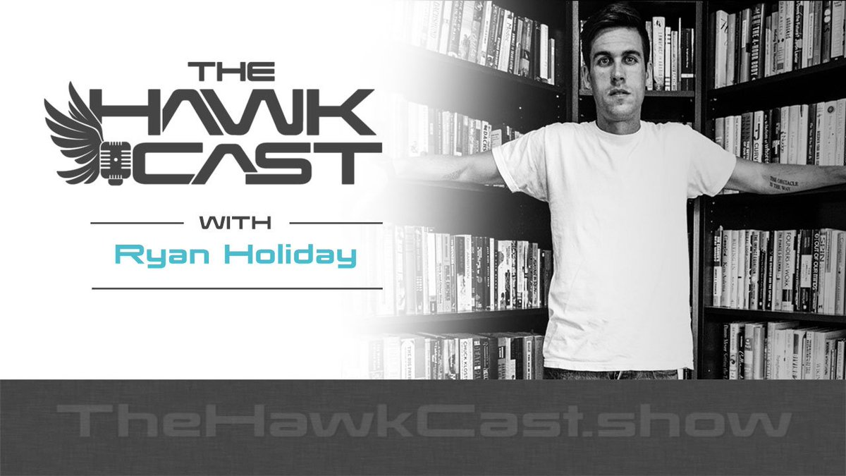 E145: @RyanHoliday makes a second visit to talk about the intriguing conspiracy story of Peter Thiel & #HulkHogan destroying #Gawker goo.gl/cSkrQk #HawkCast