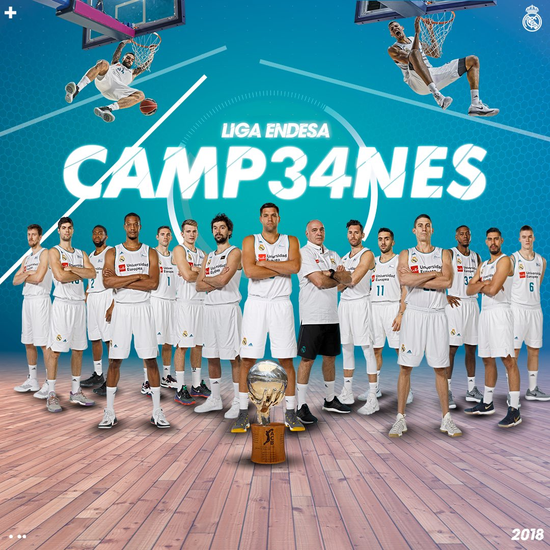 Real Madrid Basket's photo on #HalaMadrid