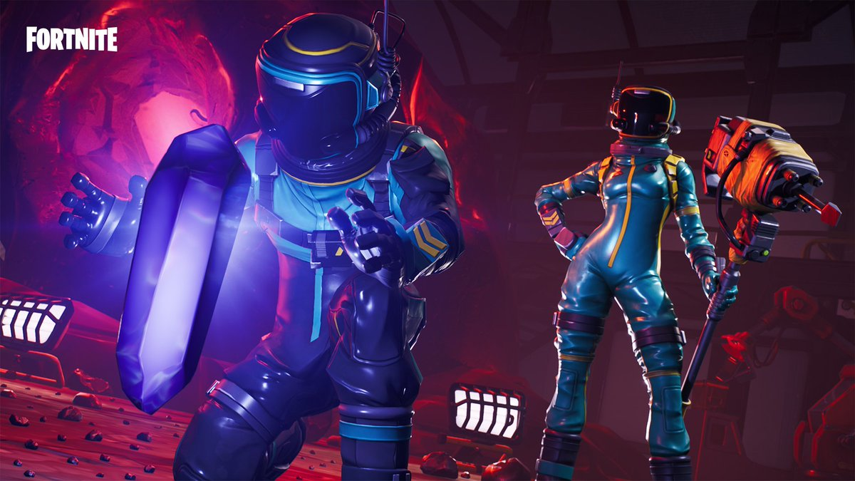 Quarantine the winners circle. The Toxic Trooper and Hazard Agent Outfits are available now!