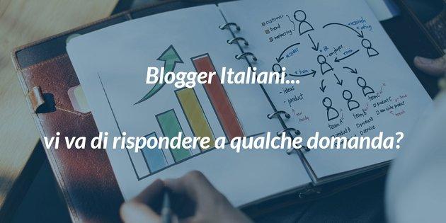 #20giugno - NUOVO POST Amici blogger, ho bisogno di voi Avete 5 minuti per un #sondaggio? Se volete, votate e retwittate!https://opportunityseekers20.blogspot.com/2018/06/sondaggio-blogger-italiani.html  - Ukustom