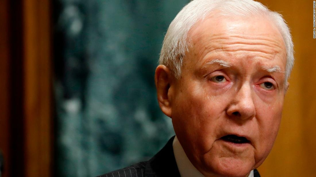 Top Senate Republican Orrin Hatch broke with President Donald Trump over separating families at the southern border, telling reporters hes not real happy with the way things are going right now cnn.it/2JTDAQE