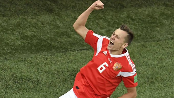 #WorldCup 2018 Golden Boot: Cheryshev draws level with Cristiano Foto