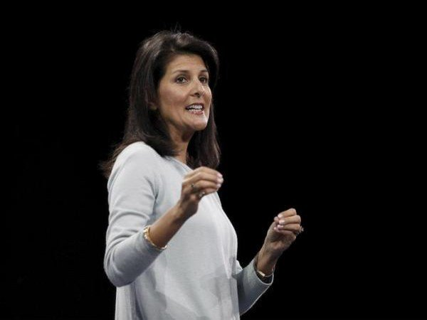 US Ambassador to the United Nations Nikki Haley says US withdrawing from UN Human Rights Council, calling it not worthy of its name.: The Associated Press (file pic)