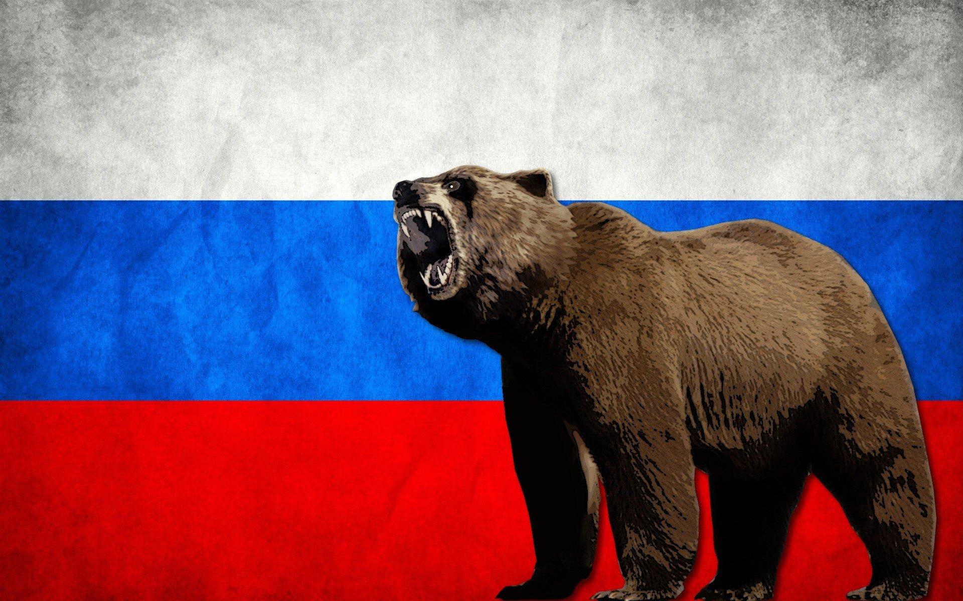 Прикольные картинки с русским медведем