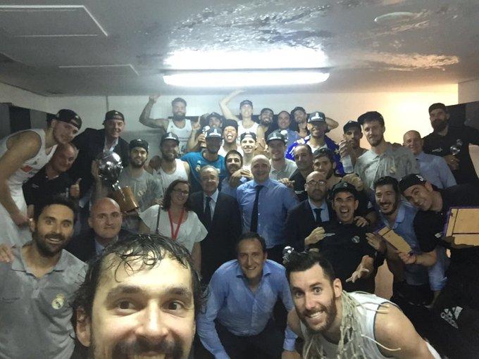 Campeones de liga!! Increíble, espectacular, brutal, impresionante, emocionante lo que ha hecho este equipo este año!! Te quiero Real Madrid!! 🏆 Photo