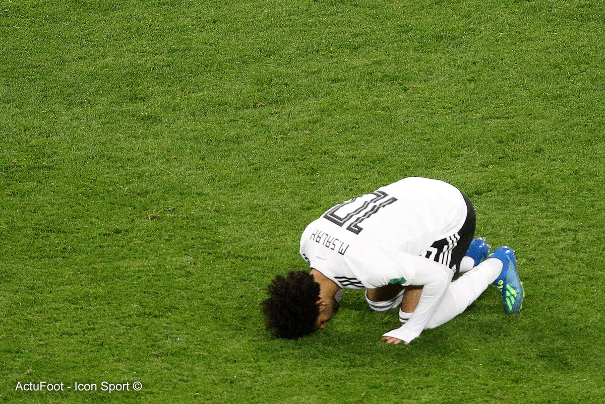 L'Egypte a inscrit hier, grâce à Mohamed Salah, son premier but en Coupe du monde depuis 1990.  L'Egyptien n'était pas encore né. 🇪🇬