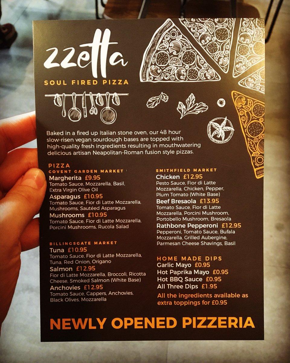 ZZETTA - Soul Fired Pizza on Twitter: \