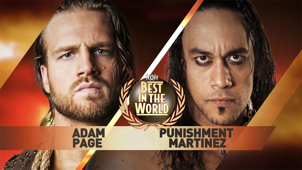 JUST ANNOUNCED: New #ROH World TV Champion @ROHPunishment will defend against @theAdamPage in a BALTIMORE STREET FIGHT at #ROHBITW! Fri June 29 - LIVE on PPV and for #HonorClub VIP @UMBCEventCenter in #ROHBaltimore Tickets: buff.ly/2FXsbNL Info: buff.ly/2JR2Rey