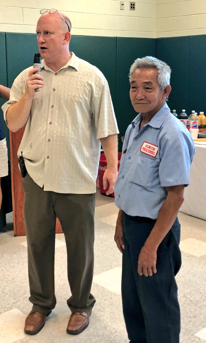 Today we celebrate Mr. Anthony Nguyen, M Scale Employee of the Year, who has been a morning custodian in <a target='_blank' href='http://twitter.com/APSVirginia'>@APSVirginia</a> for 34 years.  <a target='_blank' href='http://search.twitter.com/search?q=APSisAWESOME'><a target='_blank' href='https://twitter.com/hashtag/APSisAWESOME?src=hash'>#APSisAWESOME</a></a>  <a target='_blank' href='http://twitter.com/APSFacilities'>@APSFacilities</a> <a target='_blank' href='https://t.co/xCETLY4gN1'>https://t.co/xCETLY4gN1</a>