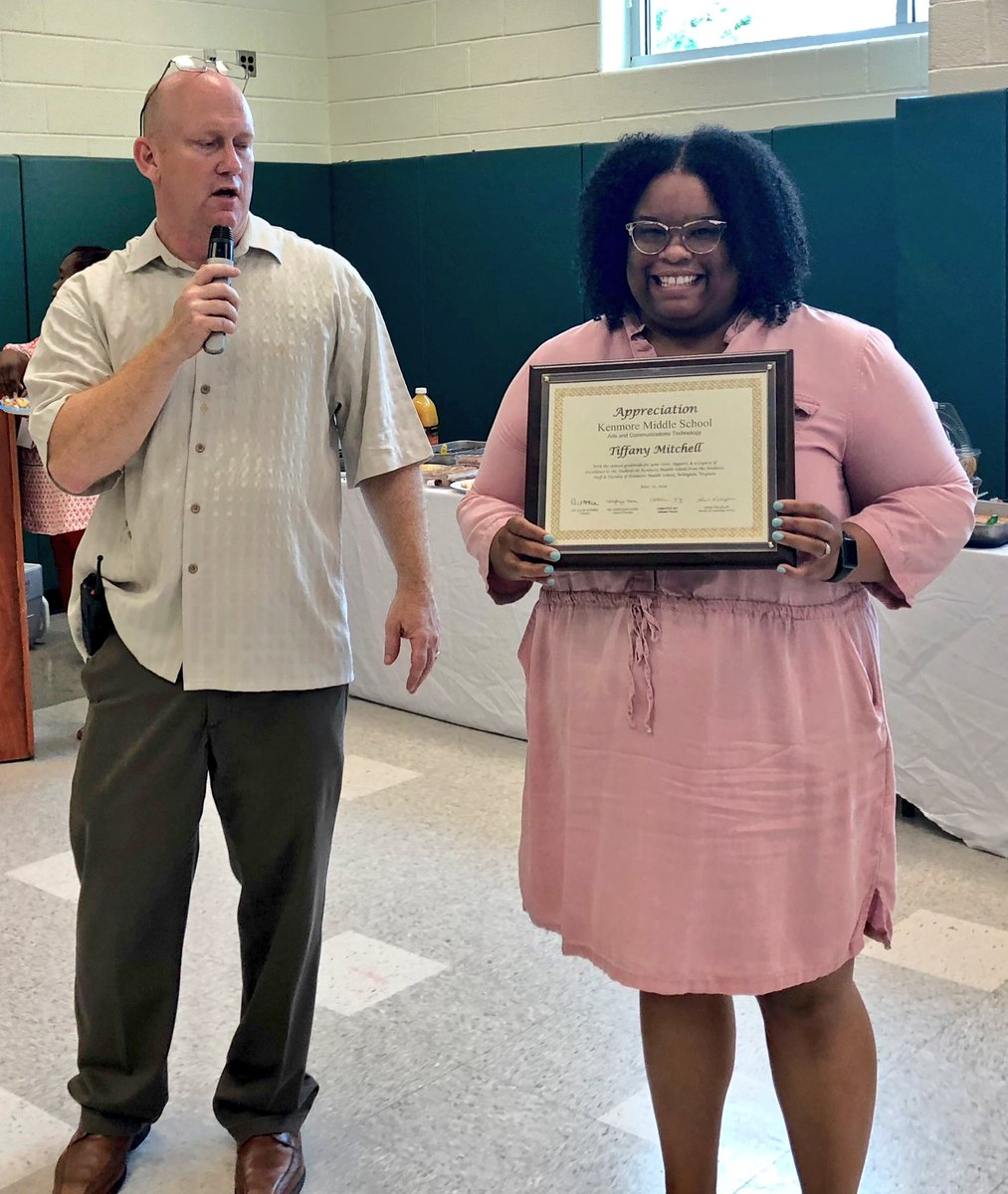 Today we honored the service of Dr. Tiffany Mitchell, Ms. Haley Norton, and Mr. Walter Riley as they will leave <a target='_blank' href='http://twitter.com/APSVirginia'>@APSVirginia</a> to pursue other career and life goals.  We will miss you and wish you the best of luck in your endeavors. <a target='_blank' href='http://search.twitter.com/search?q=APSisAWESOME'><a target='_blank' href='https://twitter.com/hashtag/APSisAWESOME?src=hash'>#APSisAWESOME</a></a> <a target='_blank' href='https://t.co/mZU9QnCIhU'>https://t.co/mZU9QnCIhU</a>