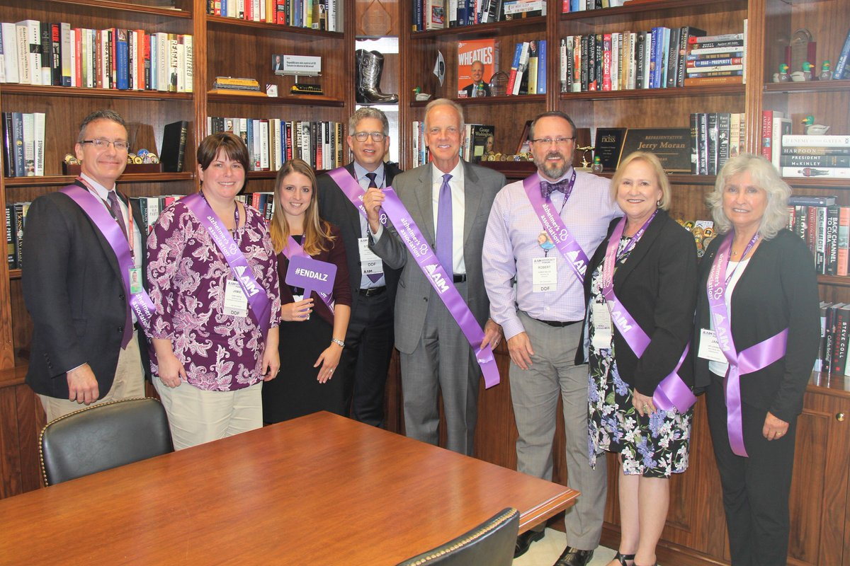 Great to meet with @alzassociation today during its 2018 Advocacy Forum. I appreciate the good work of the Alzheimer's Association as we work to try and make certain that in the future, no individual or family has to experience the impact of this disease. #EndAlz