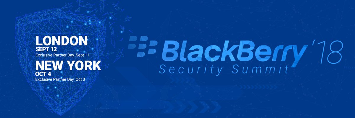Blackberry blackberry twitter blackberry security summit 2018 takes place in new york and london this fall register today to take part in the premier security event of the year fandeluxe Image collections