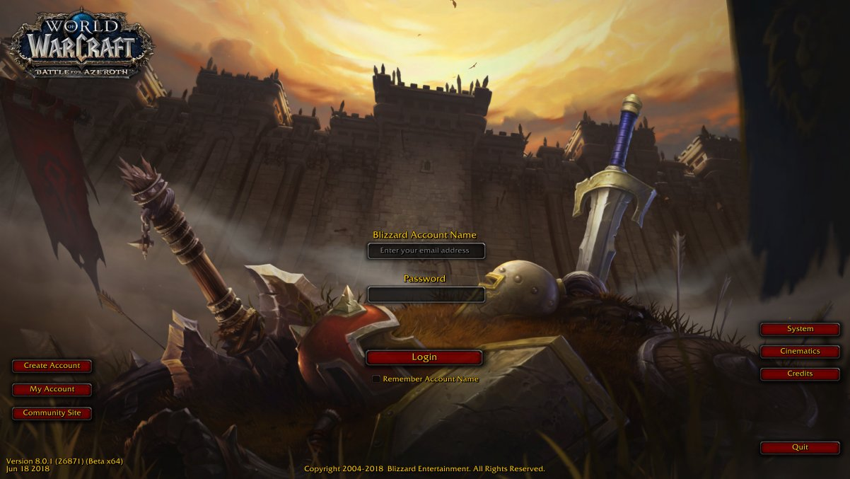 World of Warcraft |OT| Calm Before the Storm | ResetEra