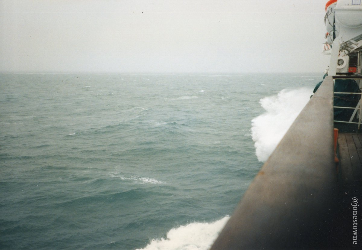 #EnglishChannel...? Ferry from #LeHavre, #France to #RosslareHarbour, #Ireland. 1997. [probably]<br>http://pic.twitter.com/vW8ehYYQhq