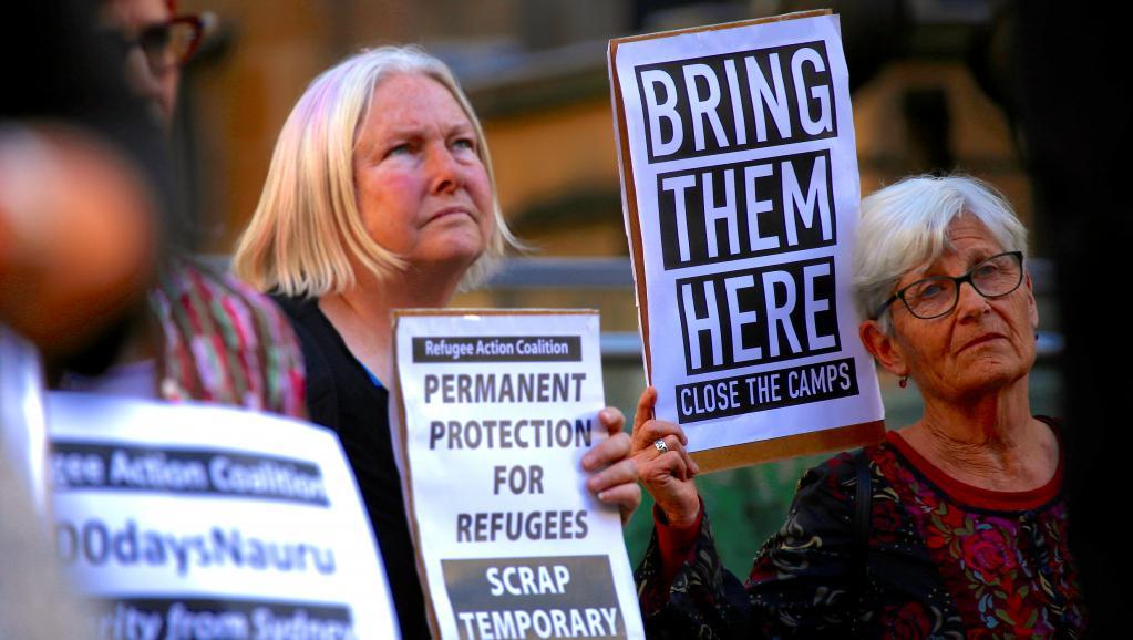 Journée mondiale des réfugiés: l'enfer des migrants retenus sur l'île de Nauru https://t.co/NwMoUvhJpx