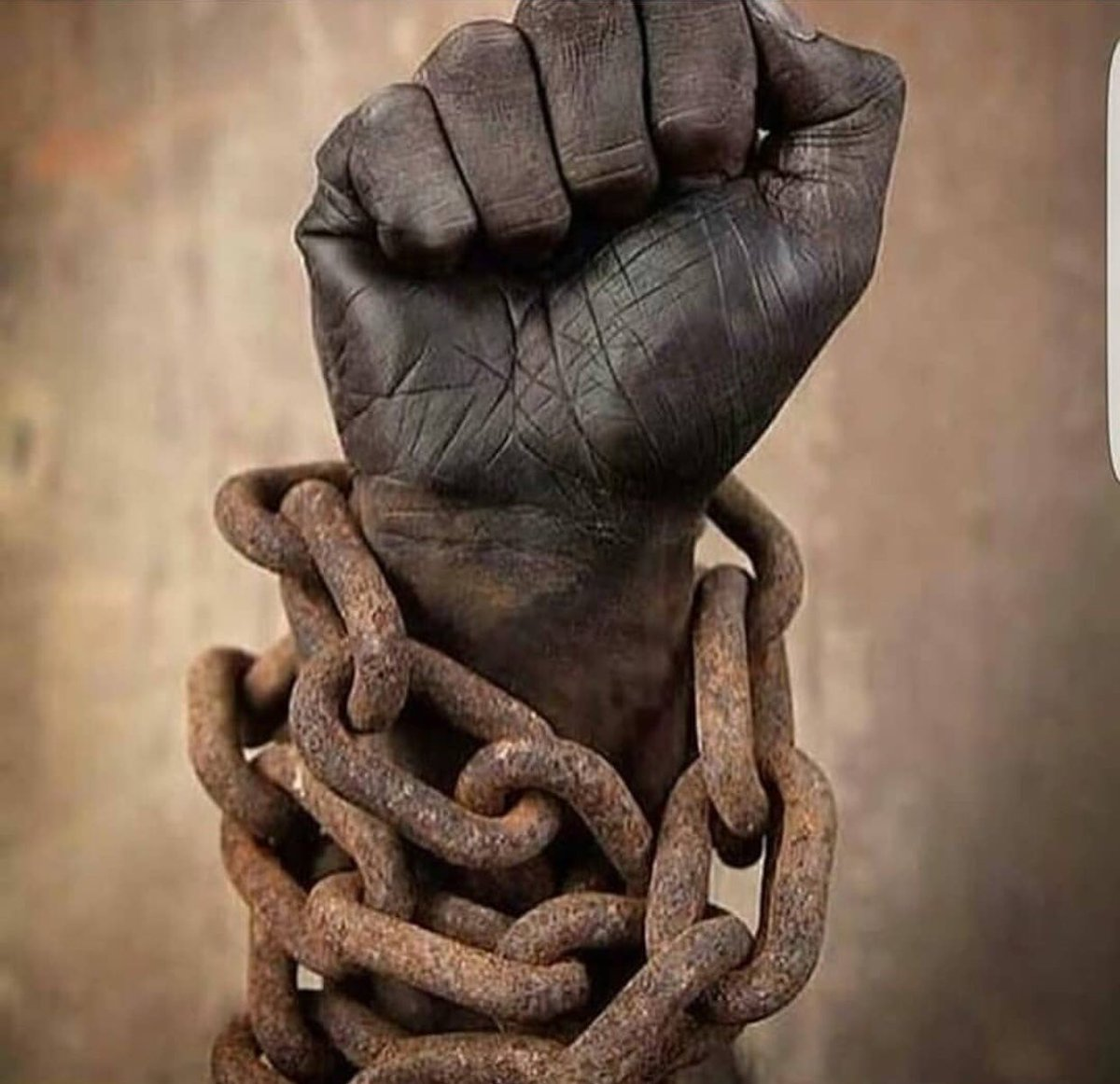 chains of slavery