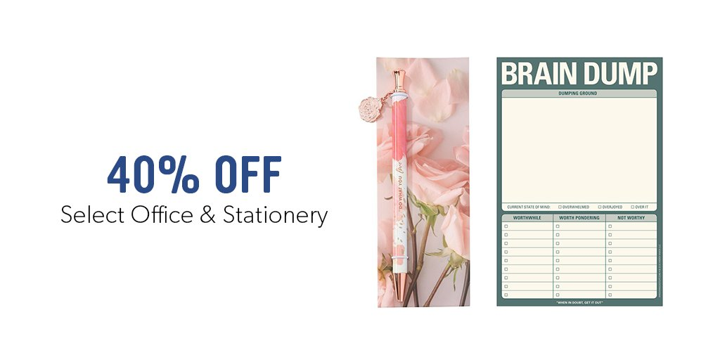 Stock Up On Select Office Supplies Stationery And Save 40 Off Online Only While Quanies Last June 18 20 Http Www Indig Ca 01mwr2