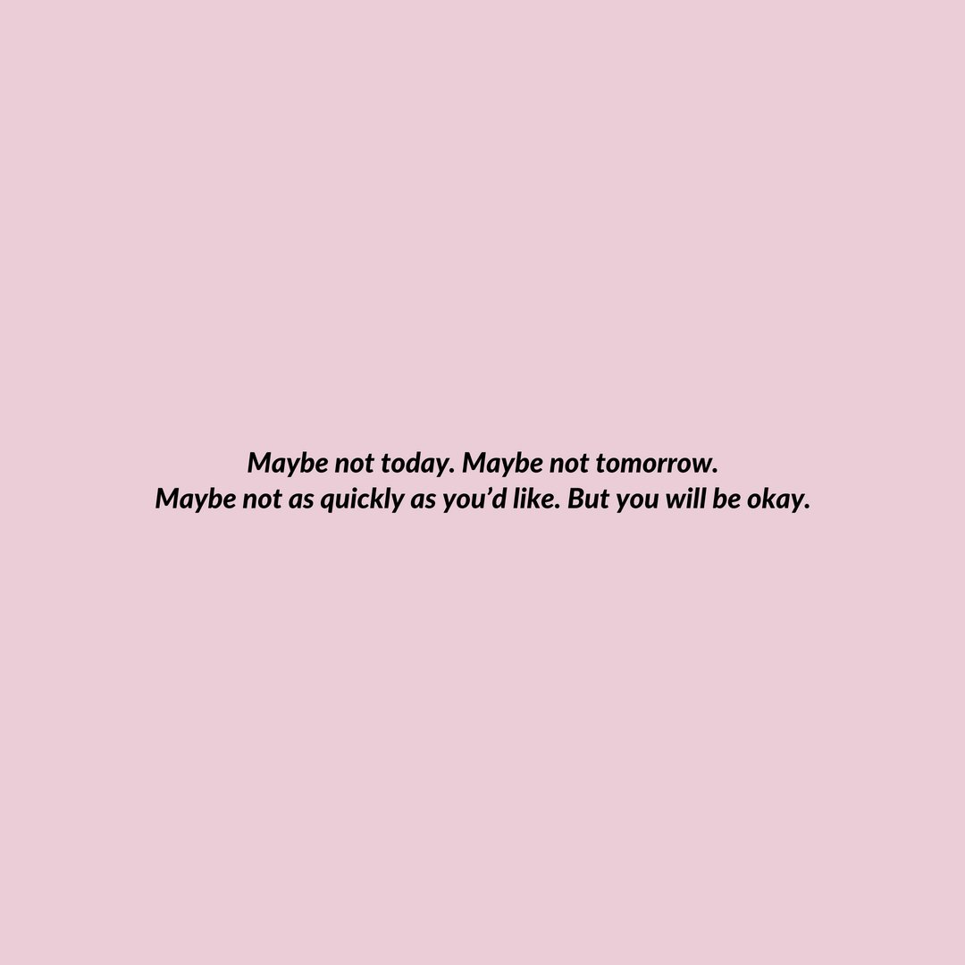 You are going to be okay.  https://t.co/6kTUs1Zur5