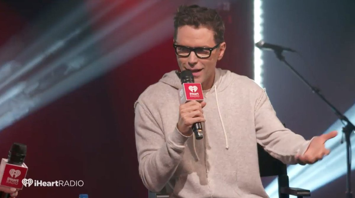 It&#39;s happening! Roles reversed. @mrBobbyBones being interviewed at the #iHeartCountry theater in NYC!   watch live:  http:// youtube.com/iHeartCountry  &nbsp;  <br>http://pic.twitter.com/UPfDXAqDD2