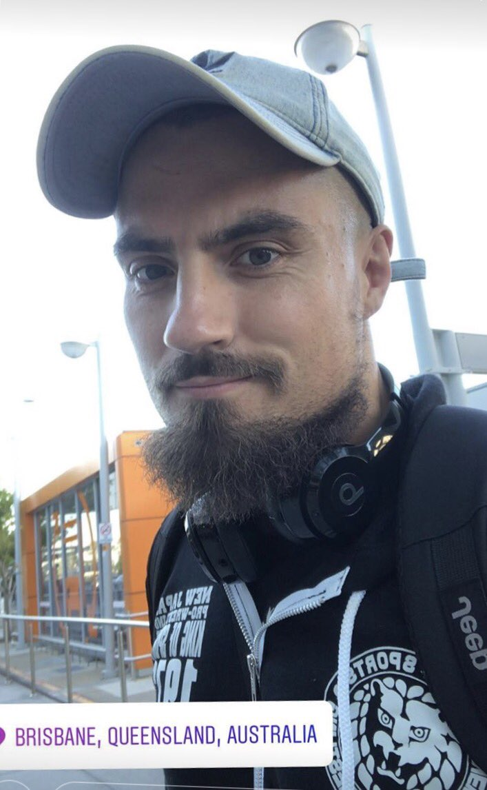 Looks like #thevillain @MartyScurll has touched down on Australian Soil! Dont miss your chance to see him LIVE! This weekend @WSWWrestlingAUS. Grab your tickets worldserieswrestling.com