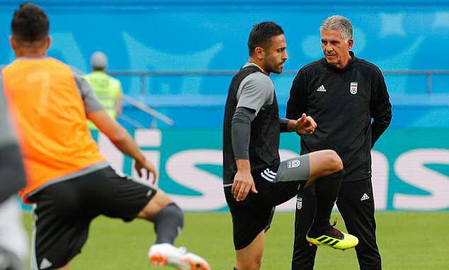 Fernando Hierro is the right man to unite Spain even though I had to get rid of him at Real Madrid, insists Iran coach Carlos Queiroz Photo
