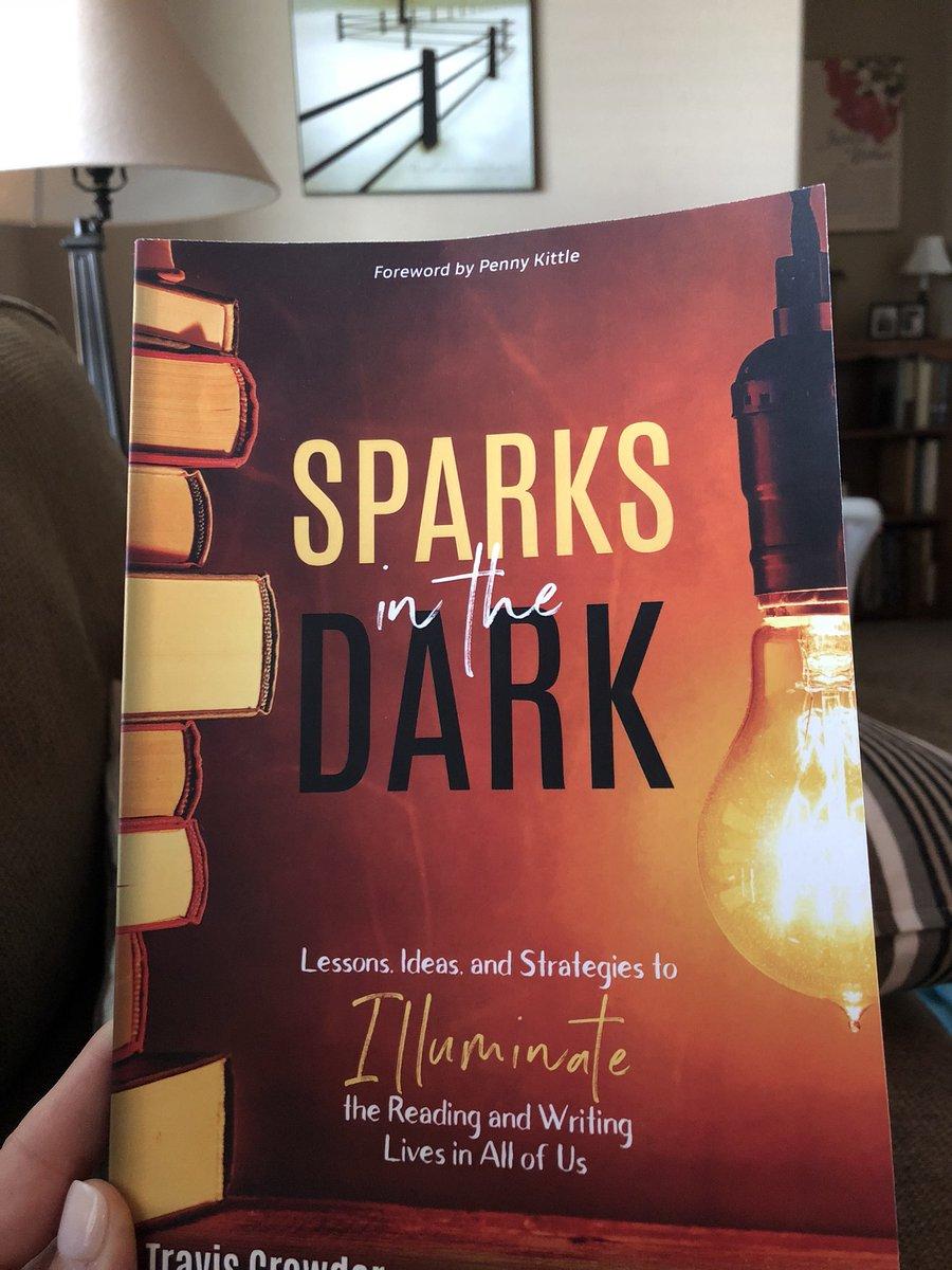 Just finished!! So good!!!! #SparksInTheDark