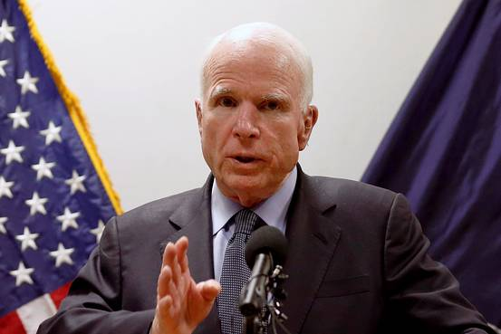 Senators Criticize Tillerson Over Afghanistan Policy  U.S. senators including John McCain criticized Secretary of State Rex Tillerson's handling of policy in the country, saying his lack of a strategy could undermine an anticipated U.S. troop surge.   https://www. wsj.com/articles/senat ors-criticize-tillerson-over-afghanistan-policy-1499195339?mod=fox_australian &nbsp; … <br>http://pic.twitter.com/v1OW9atQU7