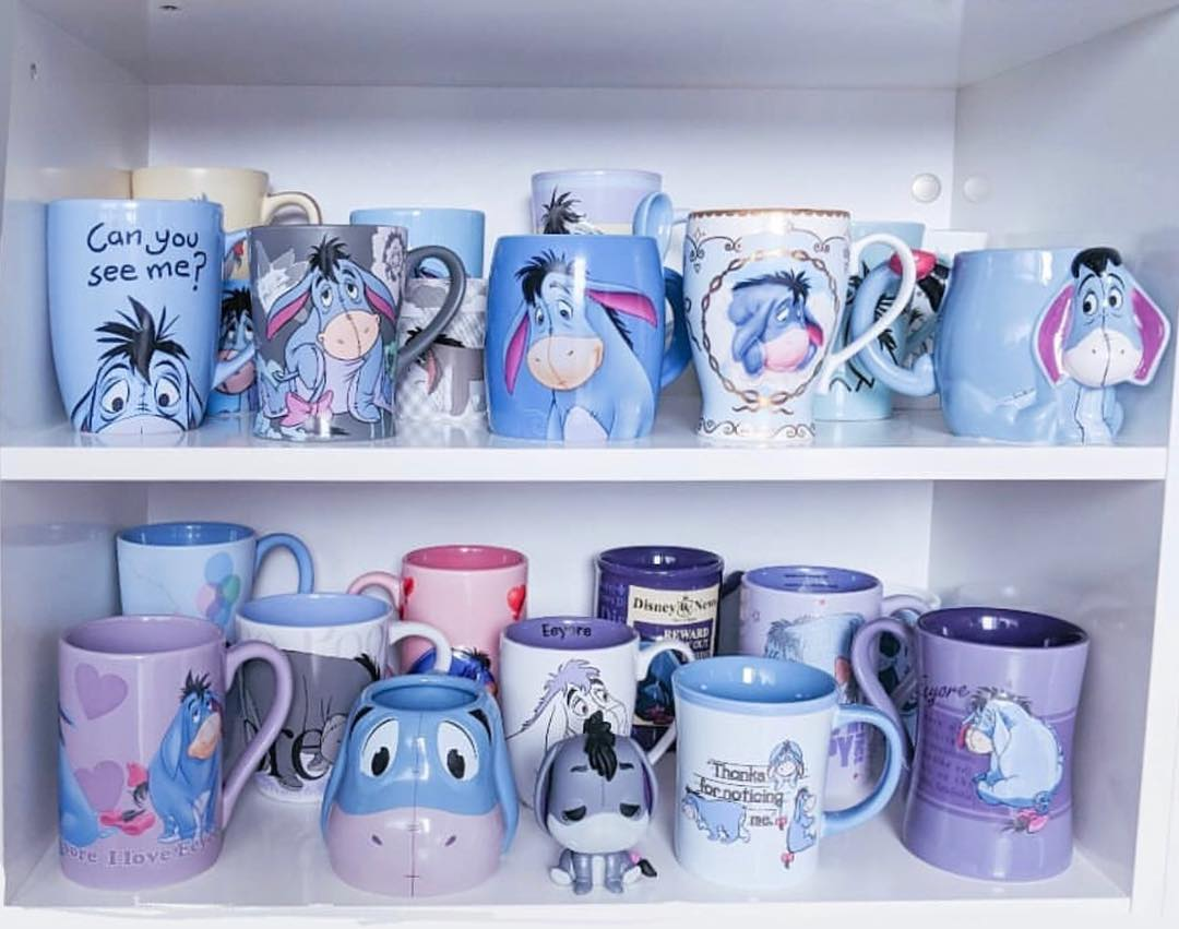 Mugs Of Disney On Twitter Carrie Dot Has One Of The Largest Eeyore Mug Collections I Ve Ever Seen And It S Nothing But Cuteness Thanks Again For Sharing Carrie Eeyore Disneymug Disneymugs Disneyhome Disneycollection