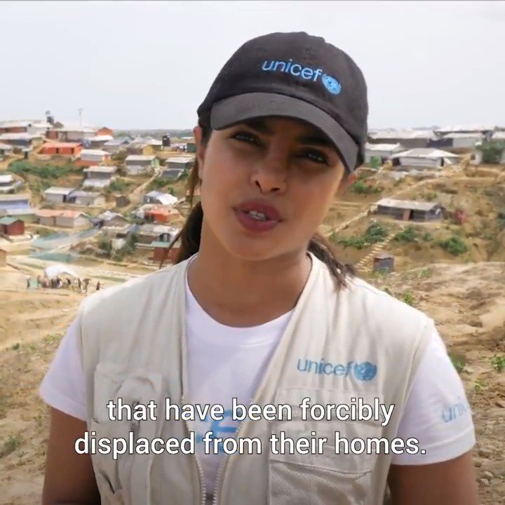 This #WorldRefugeeDay our Goodwill Ambassador @priyankachopra is raising her voice for children forced to flee their homes. Join her and show your support → uni.cf/2tkYZrc #ChildrenUprooted #AChildIsAChild