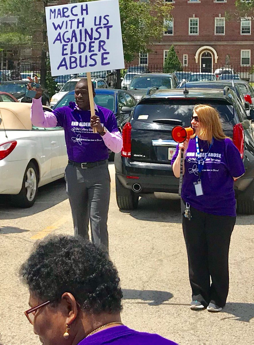 Last week we marched in #Brockton to end elder abuse, an issue spanning over 30,000 cases last year alone in Massachusetts. We must make it a priority to offer high quality services, support, safety, and care for the senior members of our communities. <br>http://pic.twitter.com/8E8peClklo